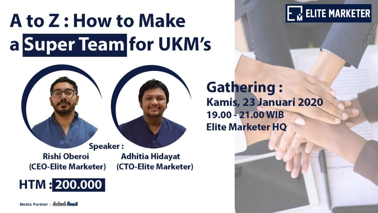 A to Z: How To Make a Super Team for UKM's