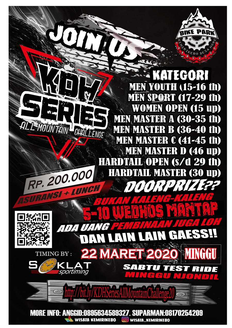 """KDH Series """"All Mountain Challenge"""" 2020"""