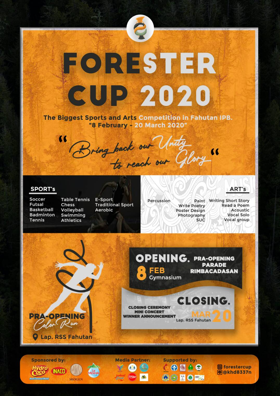 FORESTER CUP 2020