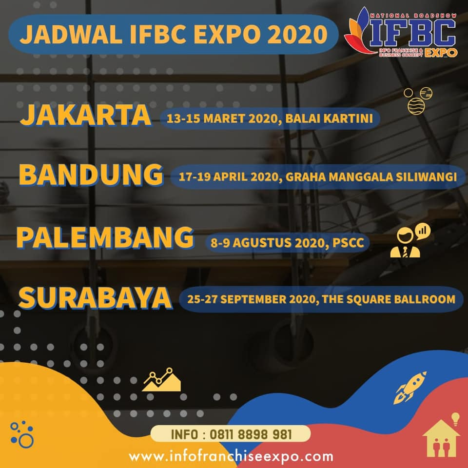 National Roadshow Info Franchise & Business Concept Expo 2020
