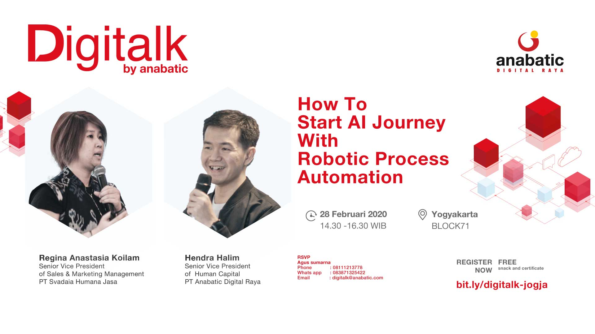 """Workshop """"How To Start AI Journey With Robotic Process Automation"""""""