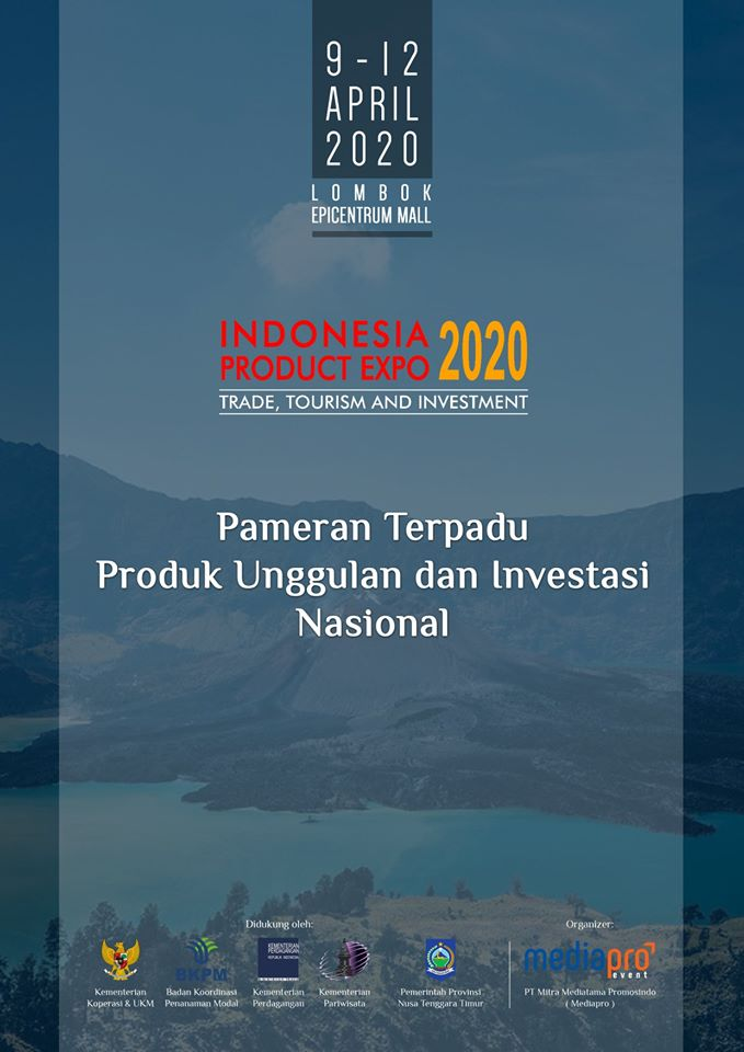 Indonesia Product Expo 2020 Lombok
