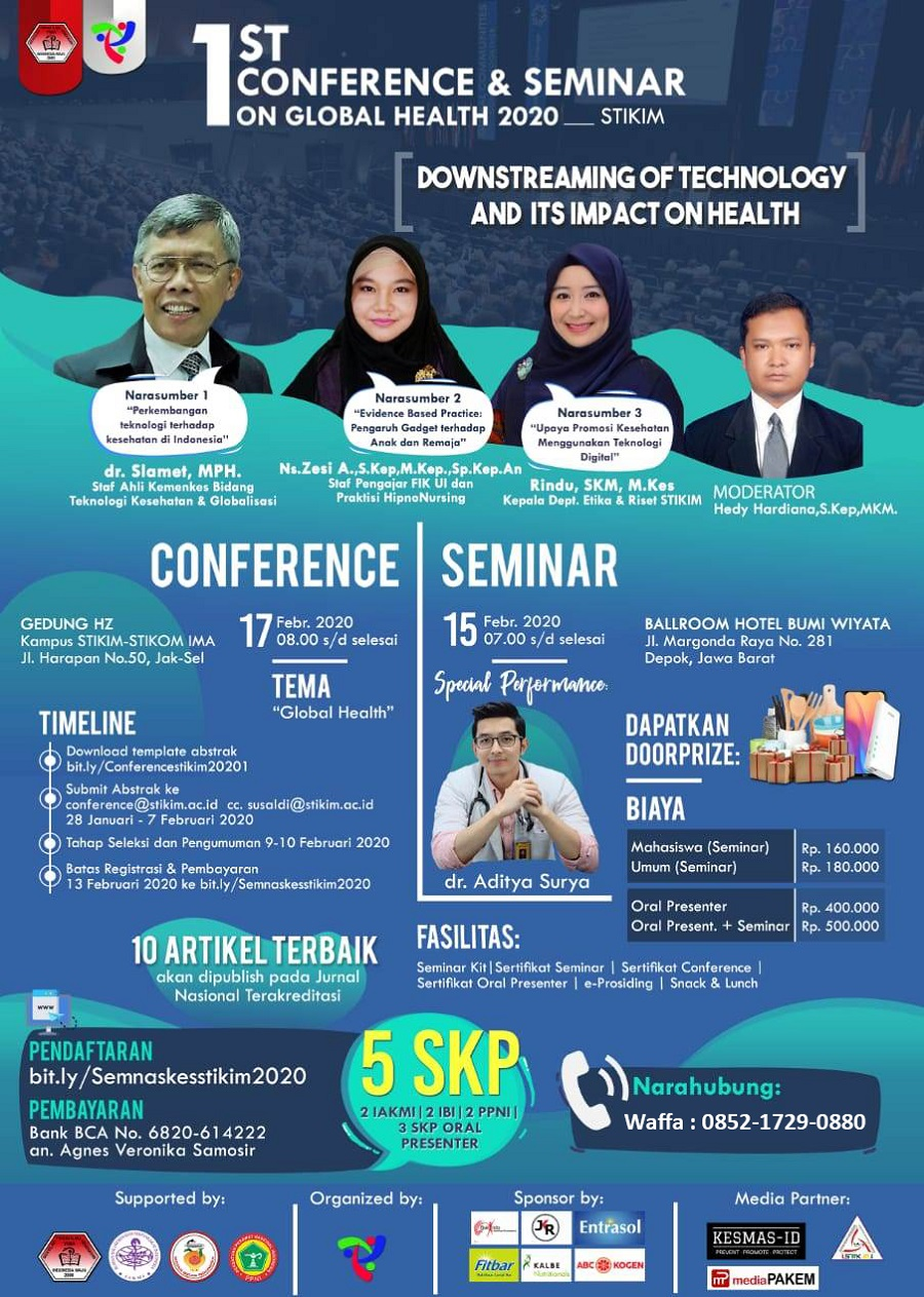 """Conference & Seminar """"Downstreaming of Technology and its Impact on Health"""