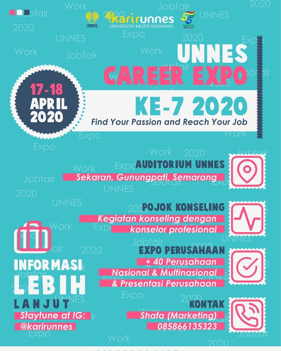 UNNES Career Expo – April 2020
