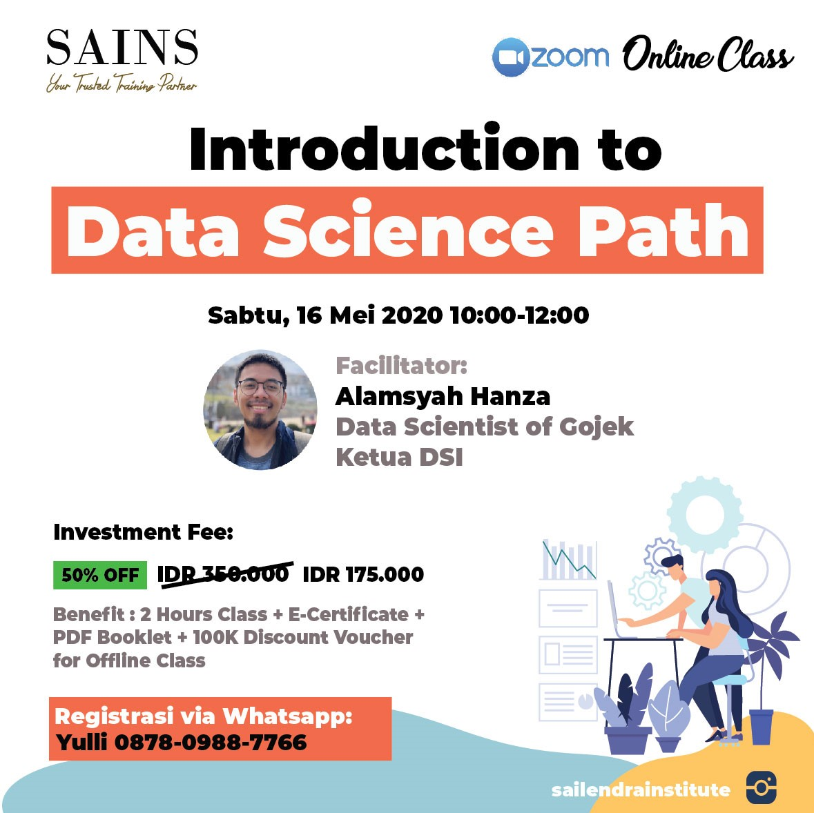 Online Class Introduction To Data Science Path