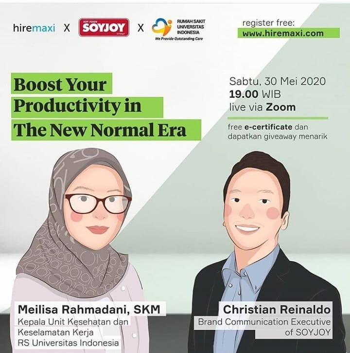 [Webinar] Boost your productivity in the new normal era