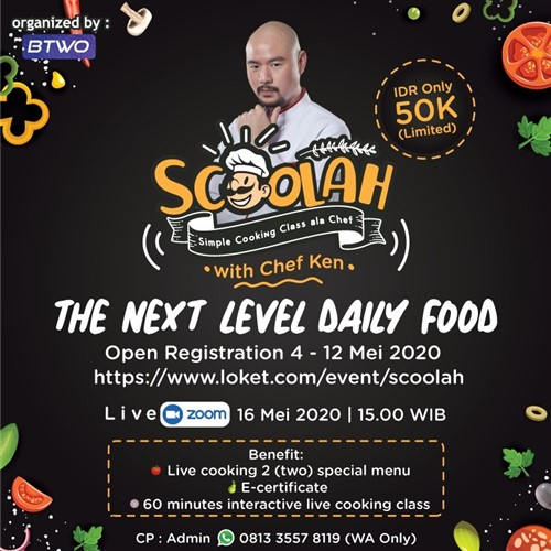 SCOOLAH (Simple Cooking Ala Chef)