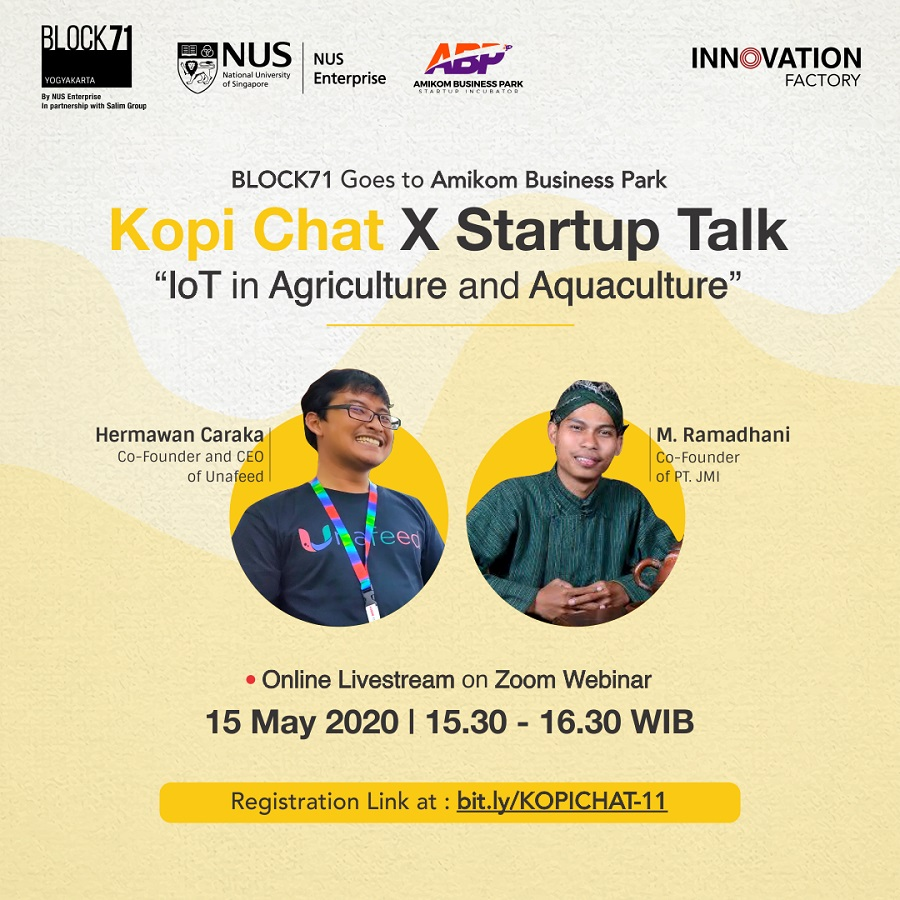 Kopi Chat X Startup Talk: IoT in Agriculture and Aquaculture