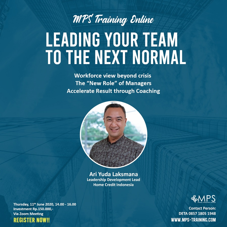 MPS Training Online - Leading Your Team to The Next Normal