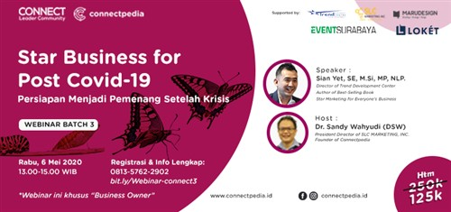 Webinar Star Business for Post Covid-19 Connectpedia