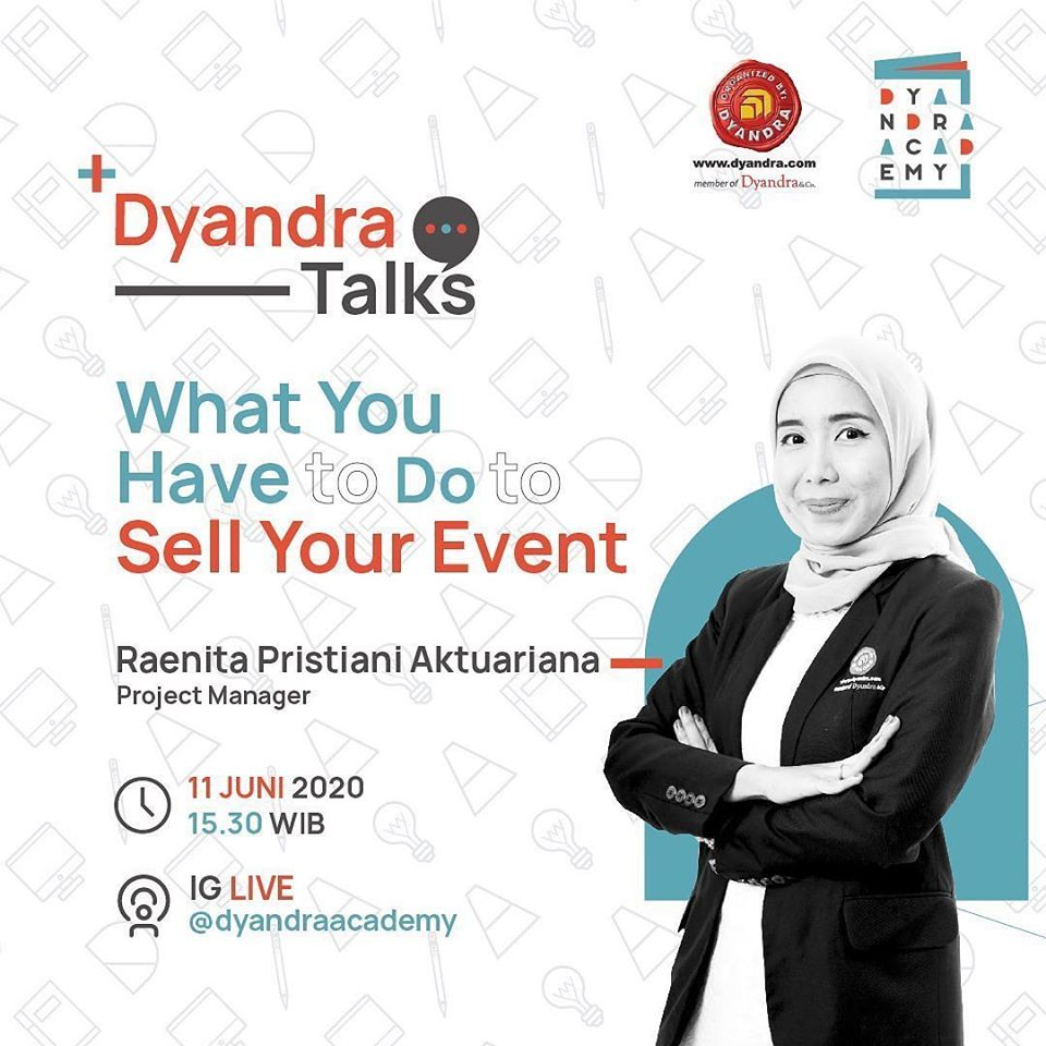 """Talkshow Online - """"What You Have to Do to Sell Your Event"""""""