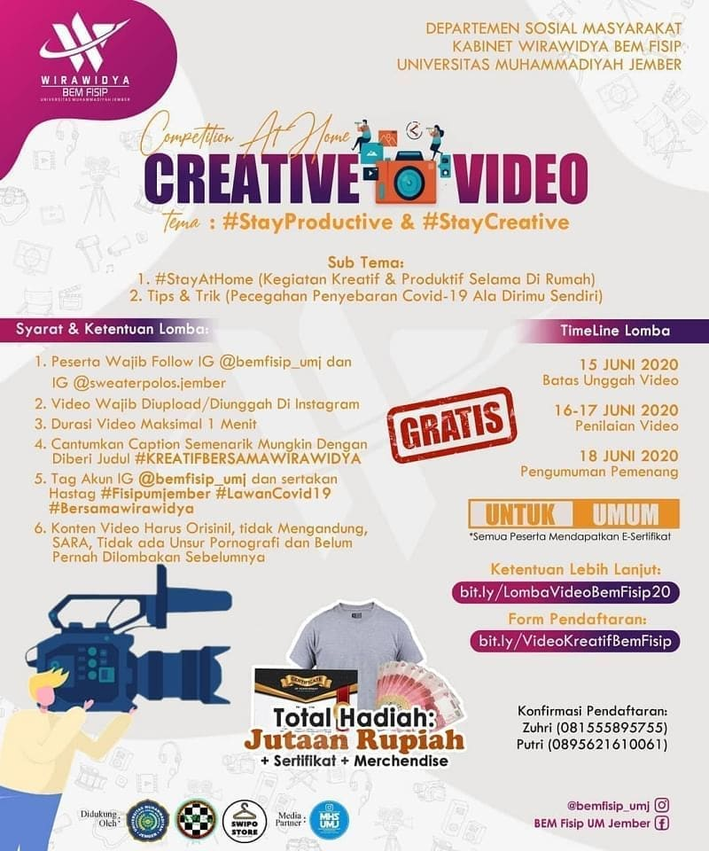 Competition At Home : Creative Video