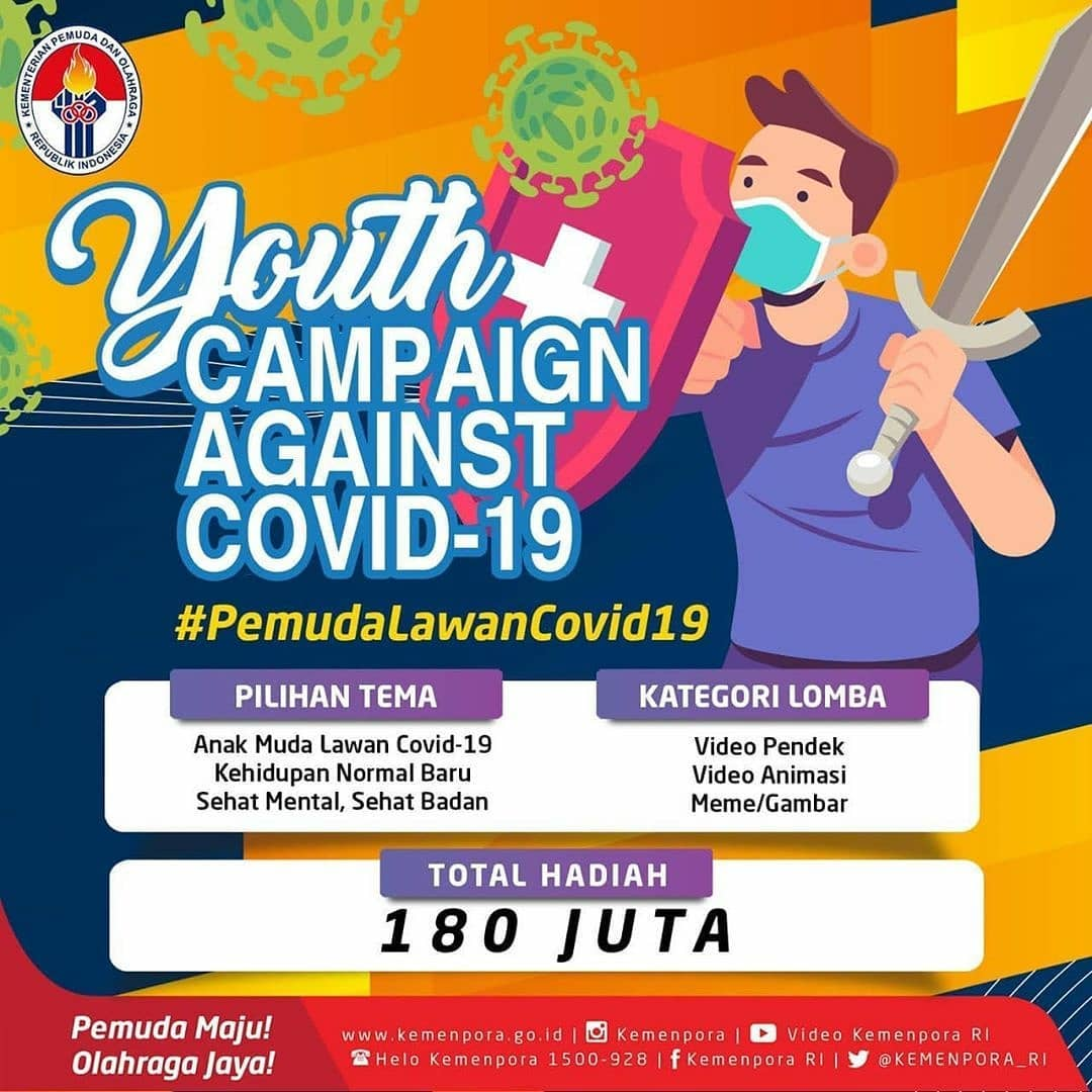Lomba Youth Campaign Against Covid-19