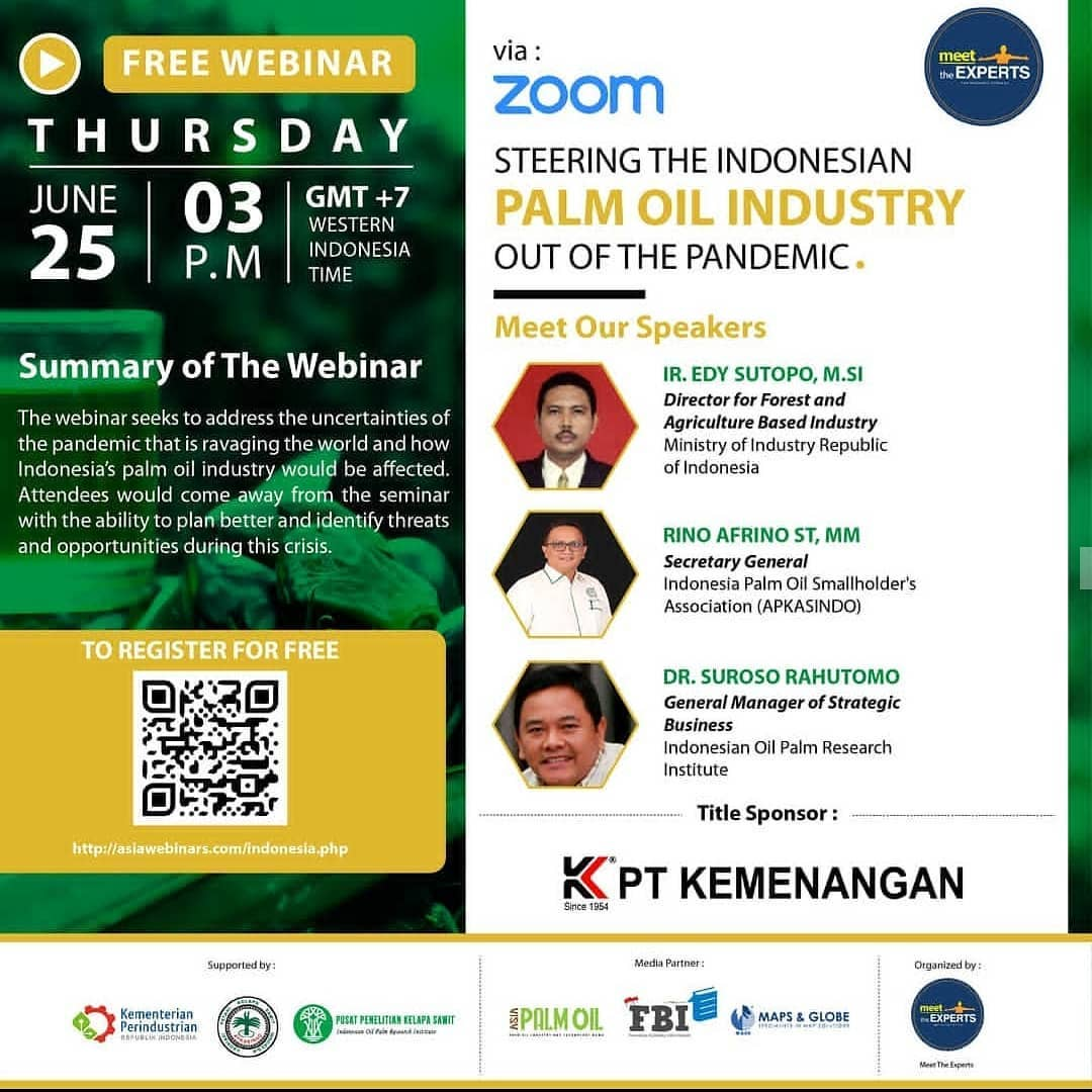 [Webinar] Steering The Indonesian Palm Oil Industry Out Of The Pandemic
