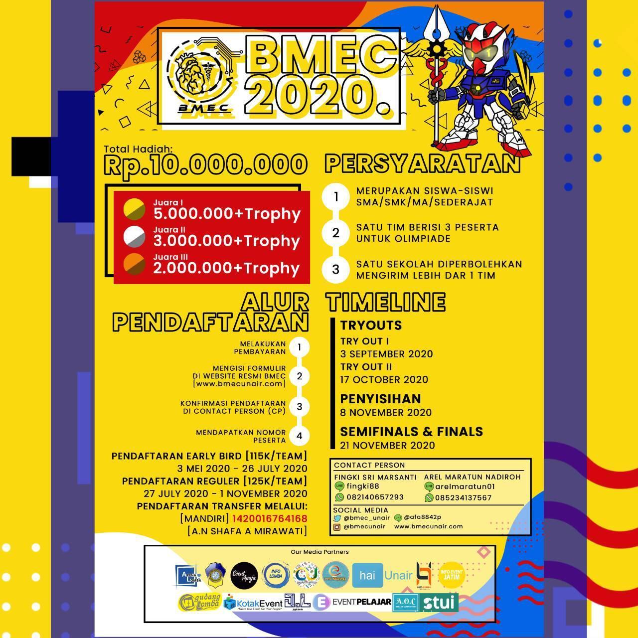 Biomedical Engineering Competition 2020