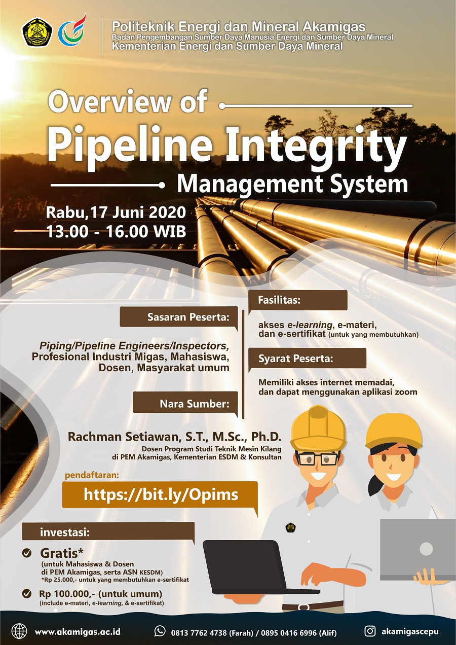 Overview of Pipeline Integrity Management System – AKAMIGAS