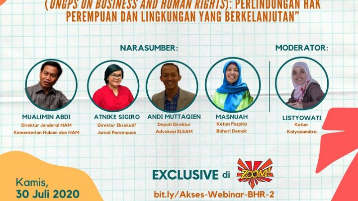 [INFID WEBINAR SERIES ON BUSINESS AND HUMAN RIGHTS]