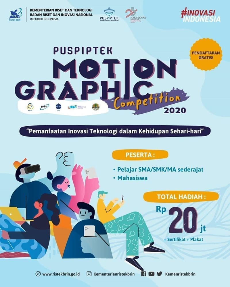 PUSPIPTEK MOTION GRAPHIC COMPETITION 2020