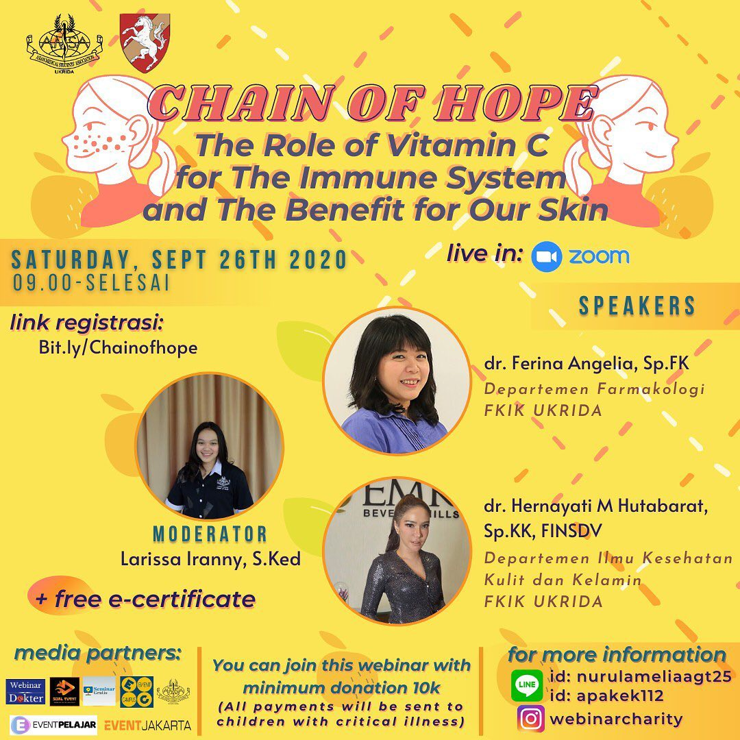 [Webinar] Chain of Hope, The Role of Vitamin C for the Immune System and the Benefit for our Skin