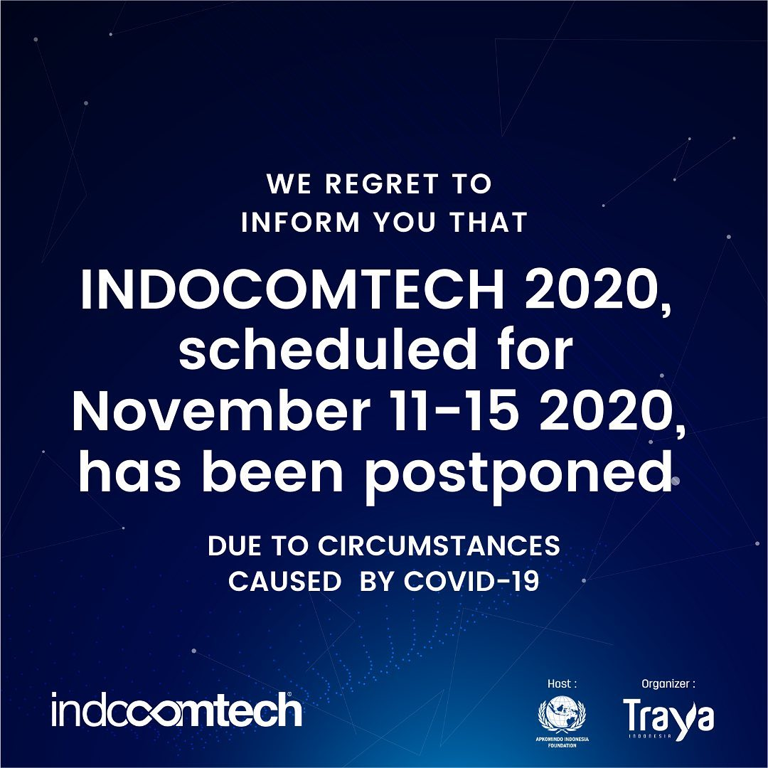 The 28th Indocomtech 2020