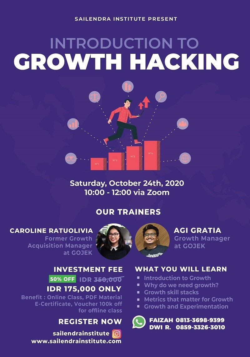 GROWTH HACKING Introduction Class – Online