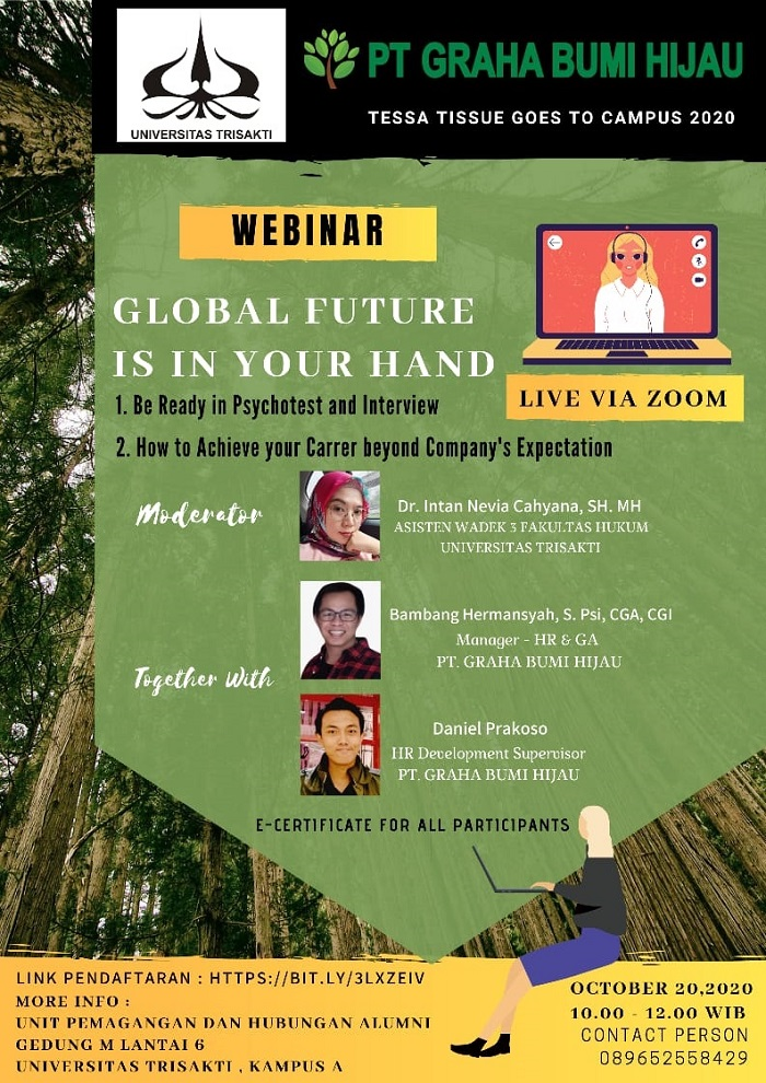 """Webinar  """"Global Future is in your hand"""""""