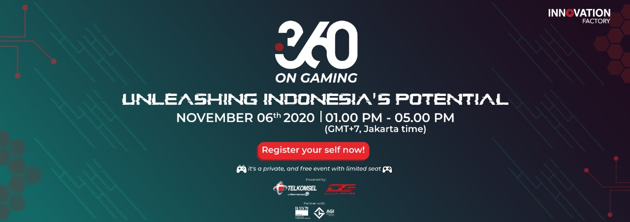 """i360 on Gaming """"Unleashing Indonesia's Potential"""""""