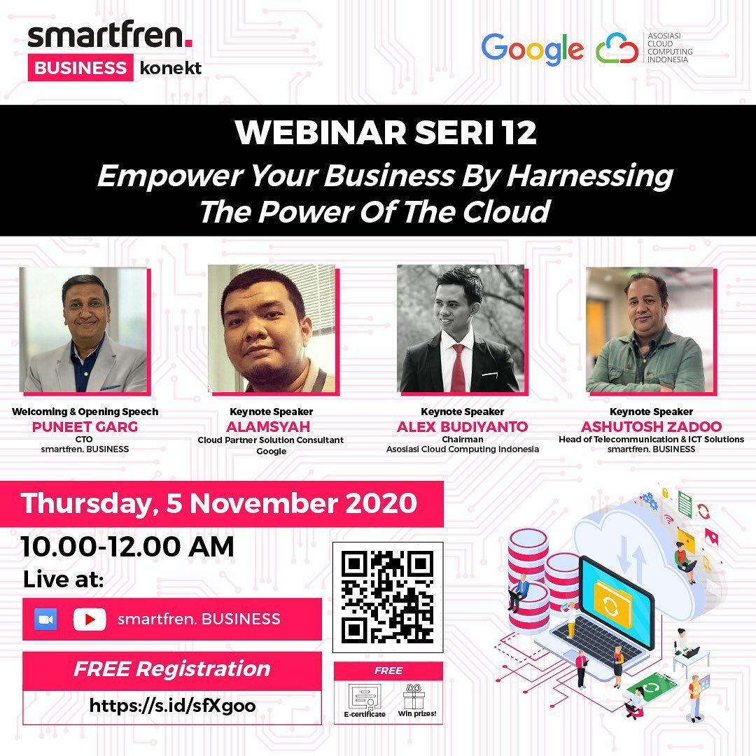 """[Webinar] Empower Your Business By Harnessing The Power Of The Cloud"""""""