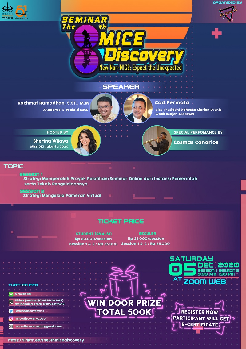 The 8th MICE Discovery - D4 UPW 2018 STP Trisakti
