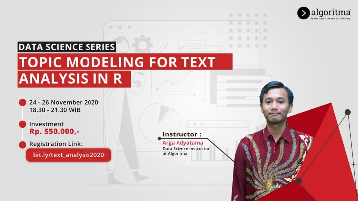 [Workshop] Data Science Series – Topic Modelling For Text Analysis In R