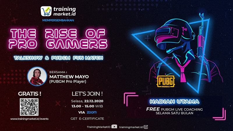 """(TALKSHOW + PUBGM FUNMATCH) """"The Rise of Pro Gamers with Matthew Mayo"""""""