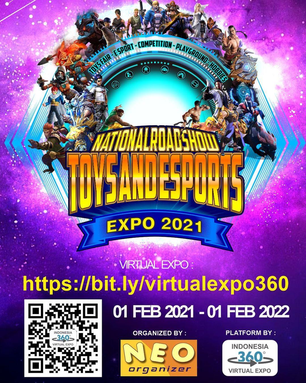 National Roadshow Toys & E-Sport Virtual Expo 2021