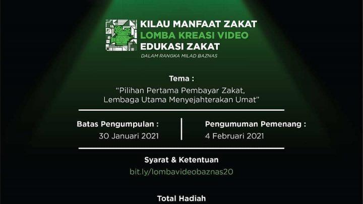 Lomba Kreasi Video – Edukasi Zakat