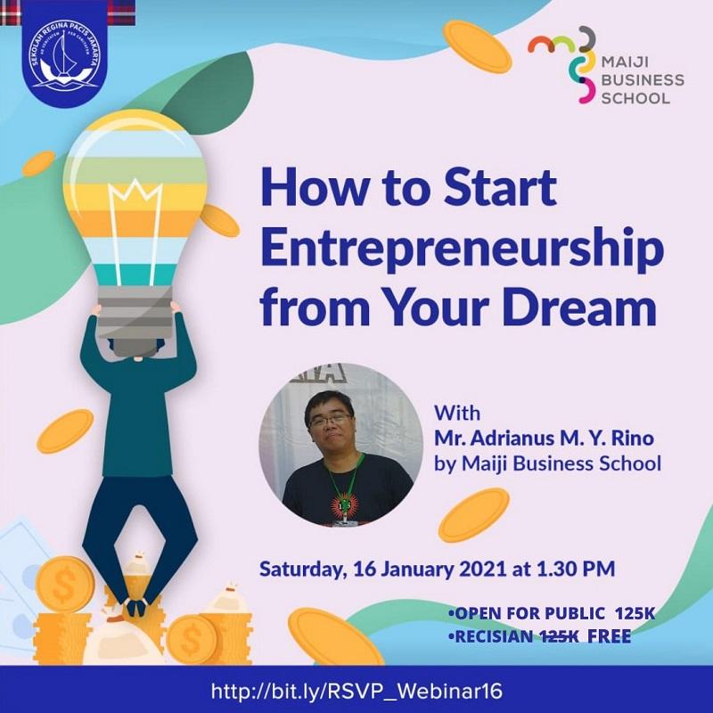 HOW TO START ENTREPRENEURSHIP FROM YOUR DREAM