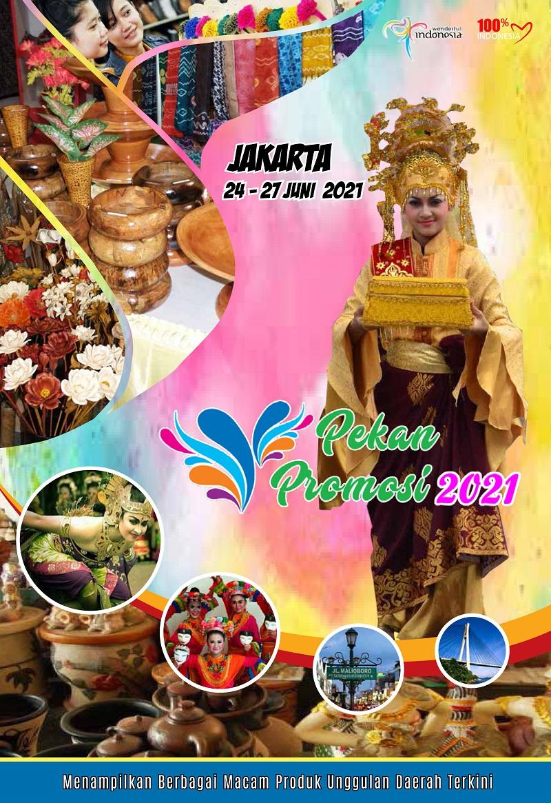PAMERAN PEKAN PROMOSI 2021 { Hut Kota Jakarta }