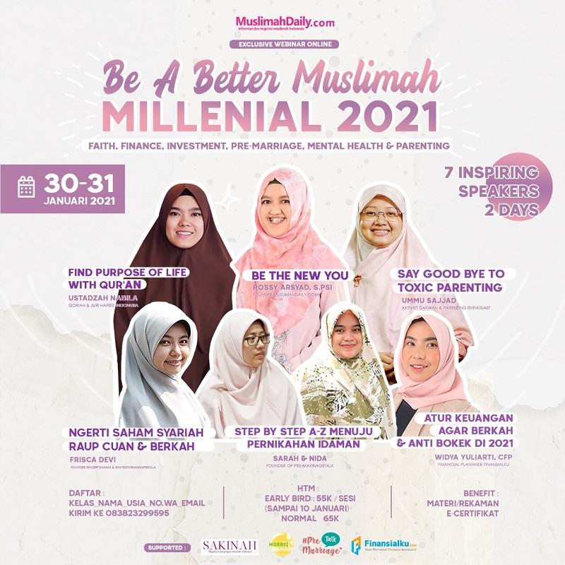 Be a Better Muslim 2021 - Muslimahdaily.com
