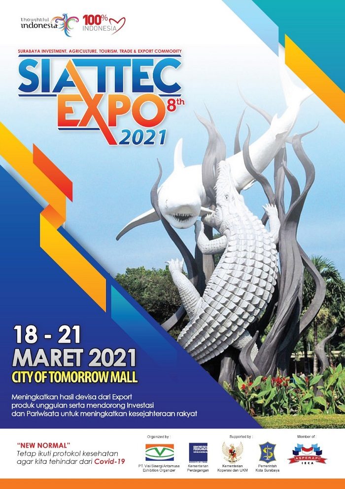 Surabaya Investment Agriculture Tourism and Trade Expo 2021 ke-8