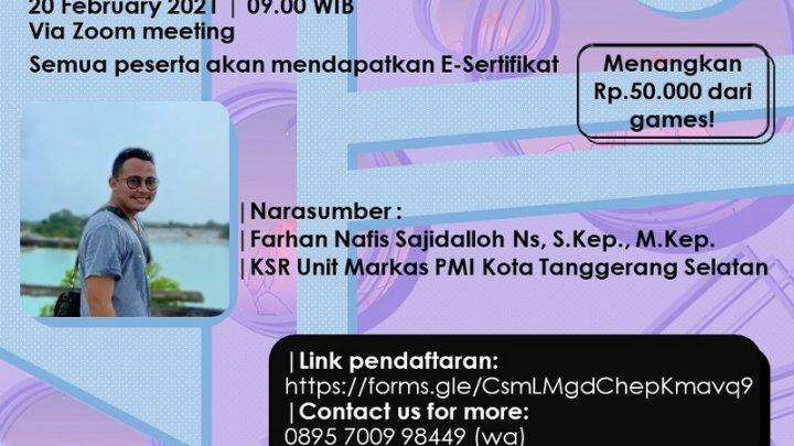 Health and Selfcare – PMR SMA Islam Cikal Harapan 1 BSD
