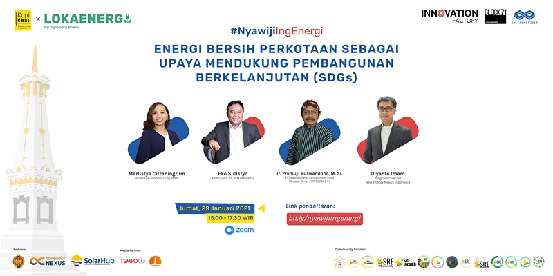 Nyawiji Ing Energi: Energi Bersih perkotaan sebagai upaya mendukung pembangunan berkelanjutan (SDGs)