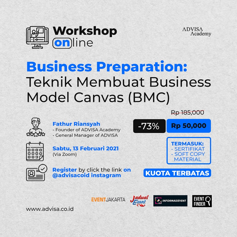 Business Preparation : Teknik Membuat Business Model Canvas (BMC)