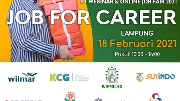 Online Job Fair – Job For Career Lampung