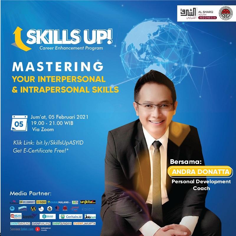 Webinar - Mastering Interpersonal dan Intrapersonal Skills