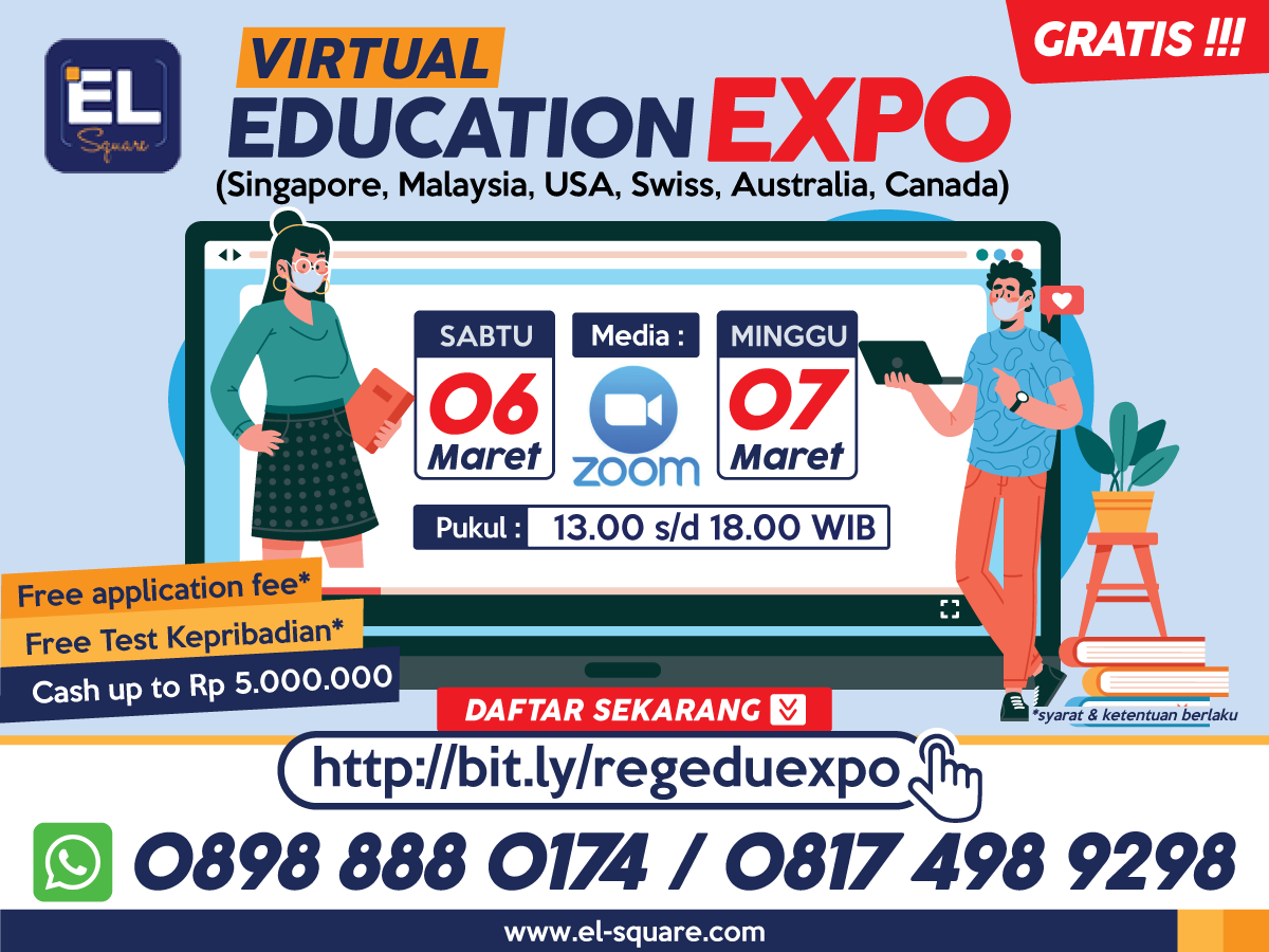 VIRTUAL EDUCATION EXPO (Singapore, Malaysia, Australia, Swiss, Canada, USA)