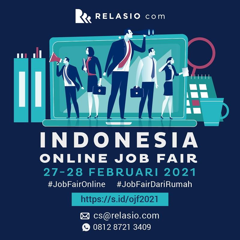 INDONESIA Online Job Fair  #tomorrow