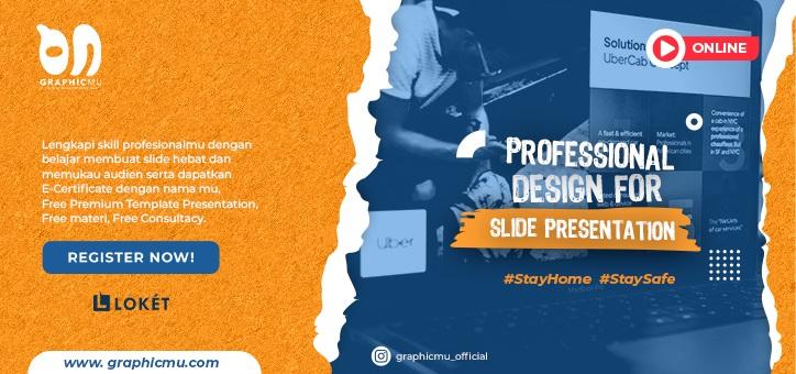 Online Course - Profesional Design For Slide Presentation