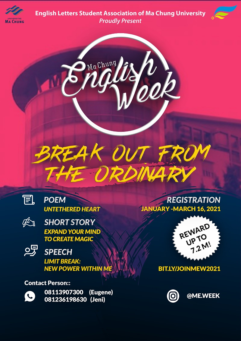 Ma Chung English Week 2021 Online