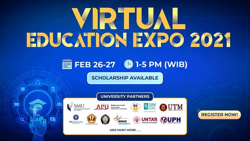 International Virtual Education Expo 2021, Menjadi Ajang Pencarian Beasiswa