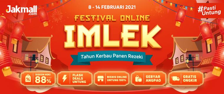 Promo Imlek 2021 - Festival Online Imlek