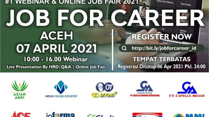 ONLINE JOB FOR CAREER ACEH