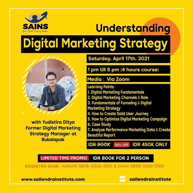 Understanding Digital Marketing Strategy Workshop